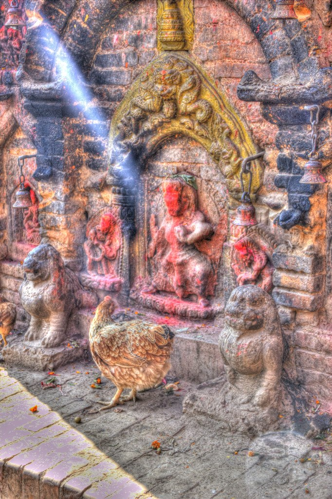 Bhaktapur Shrine by Triadasoul