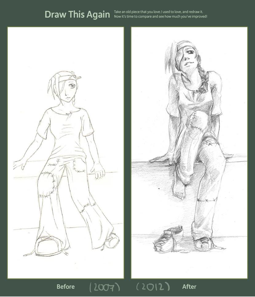 Draw This Again - Desuke by Chiruzame