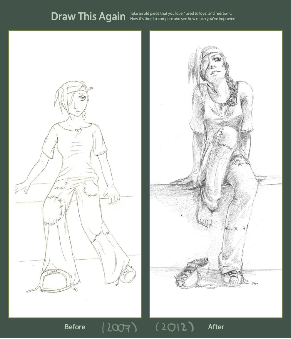 Draw This Again - Desuke by Nadirising