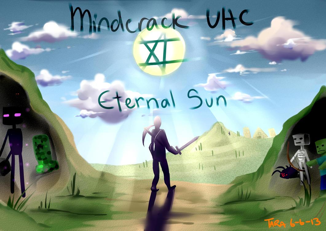 Mindcrack UHC 11 - Eternal Sun by taraforest