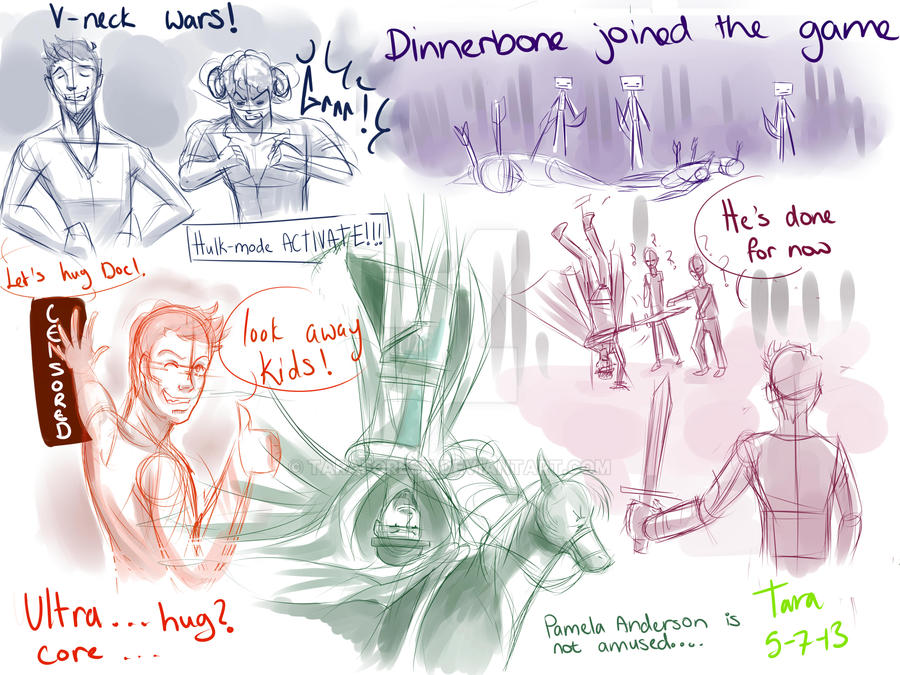 B00 livestream doodles by taraforest