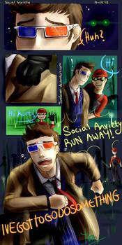 Mindcrack Comic - Social Anxiety (+speedpaint)