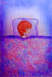 Sleeping Chuuya uwu - BSD by Pandahyu