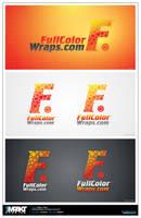 Full colour wraps logo by crezo