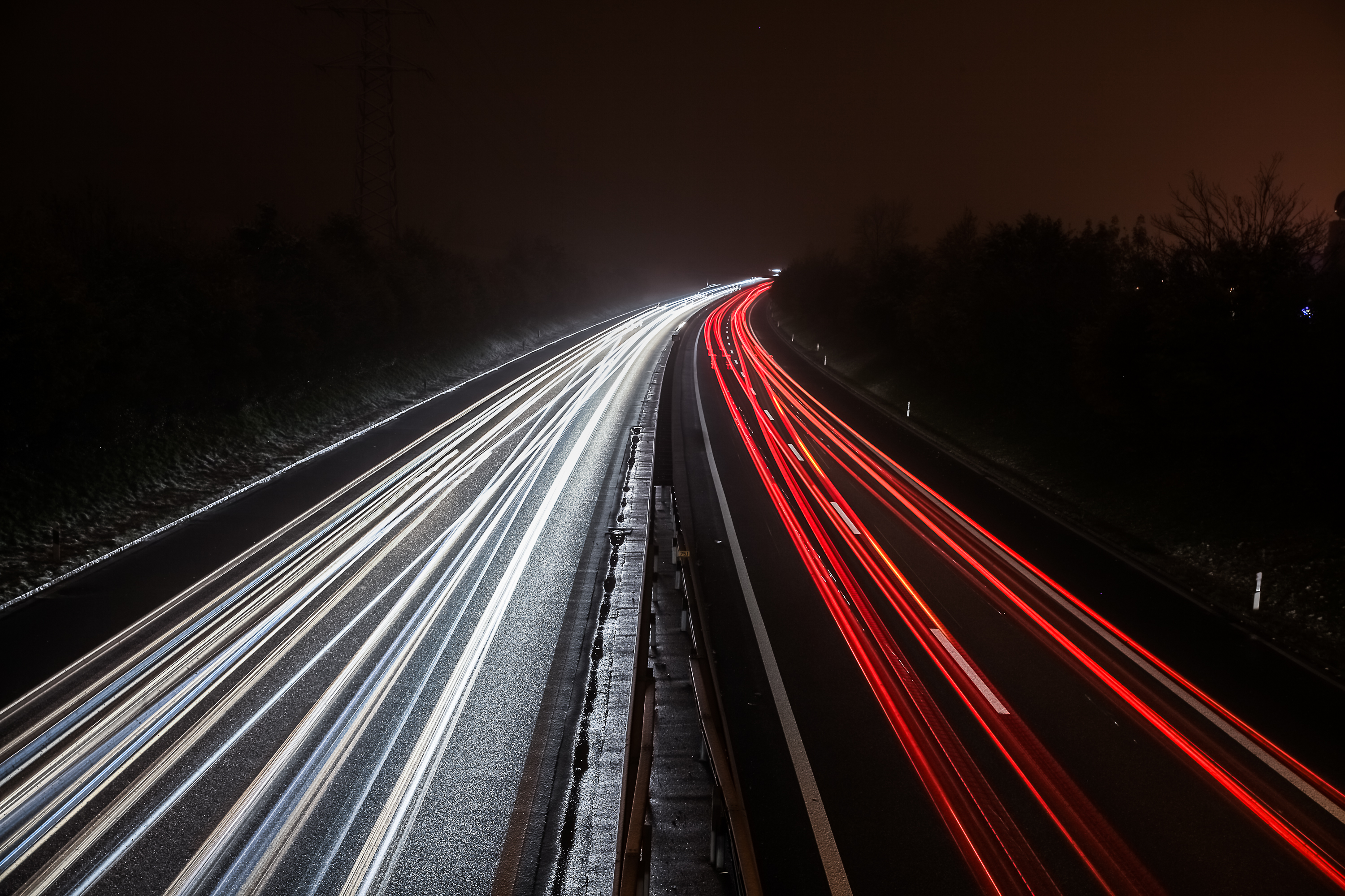 lighttrails by Sanji1989