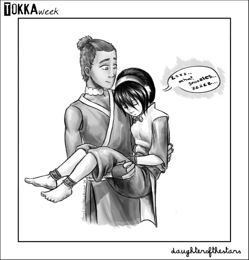 Tokka Week - Day Six - Pillow by daughterofthestars