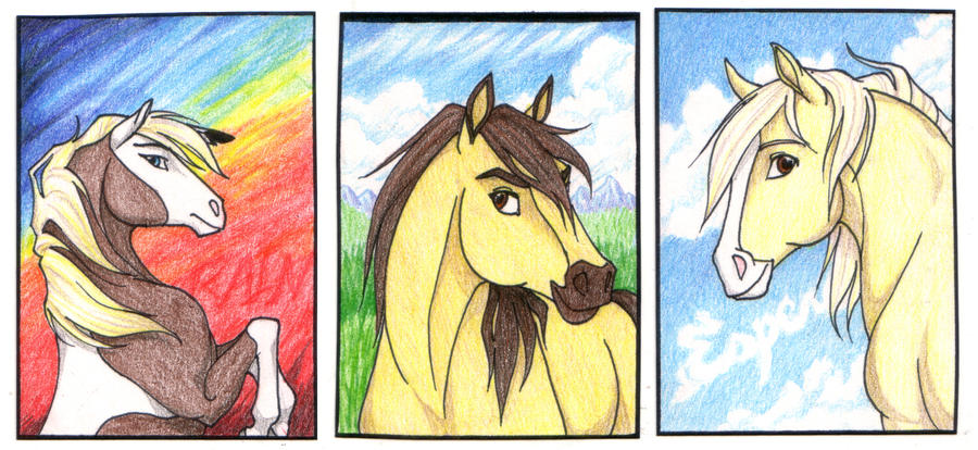 Spirit aceo contest prizes by daughterofthestars on deviantart - Comment dessiner spirit ...