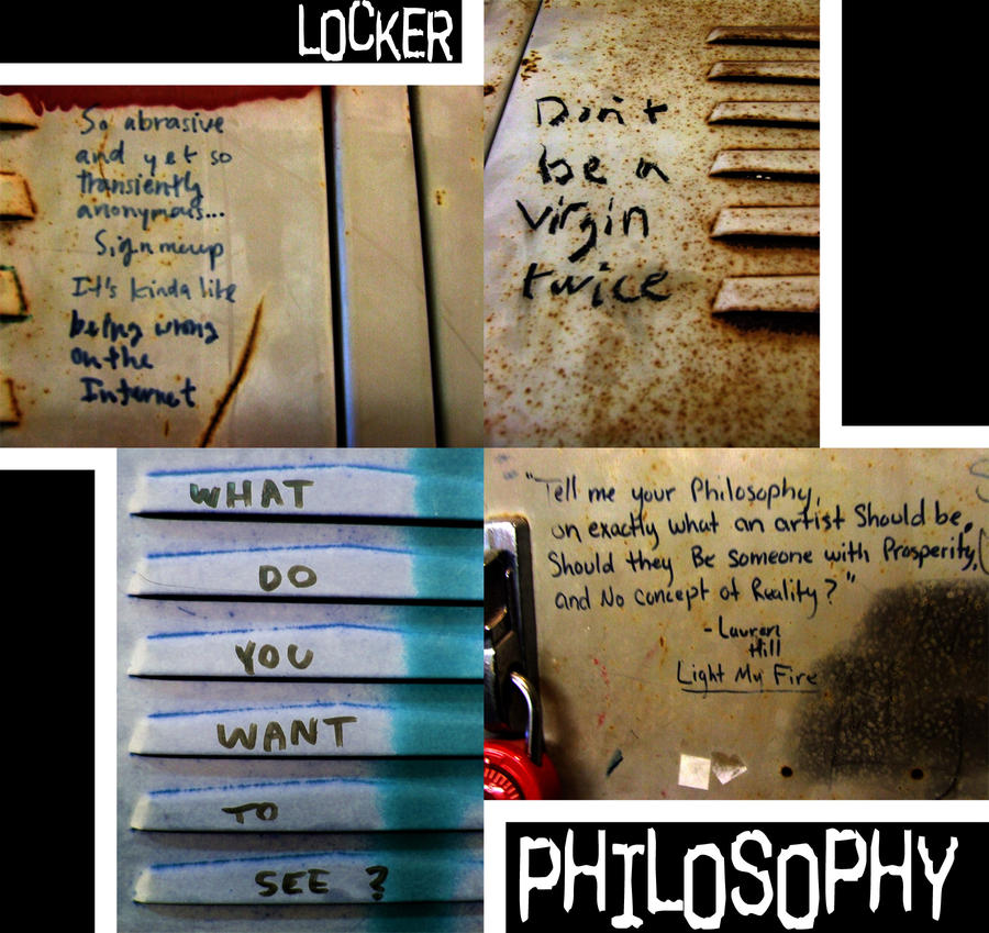Locker Philosophy by daughterofthestars