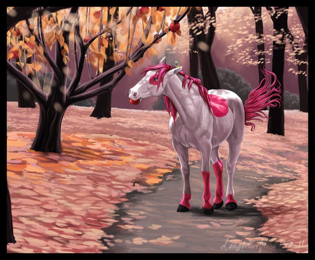 Apple Cherry Pie by daughterofthestars
