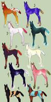 Fantasy Foal Adoptables - Discounted!