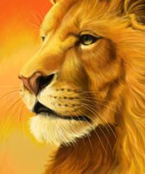 Aslan by daughterofthestars