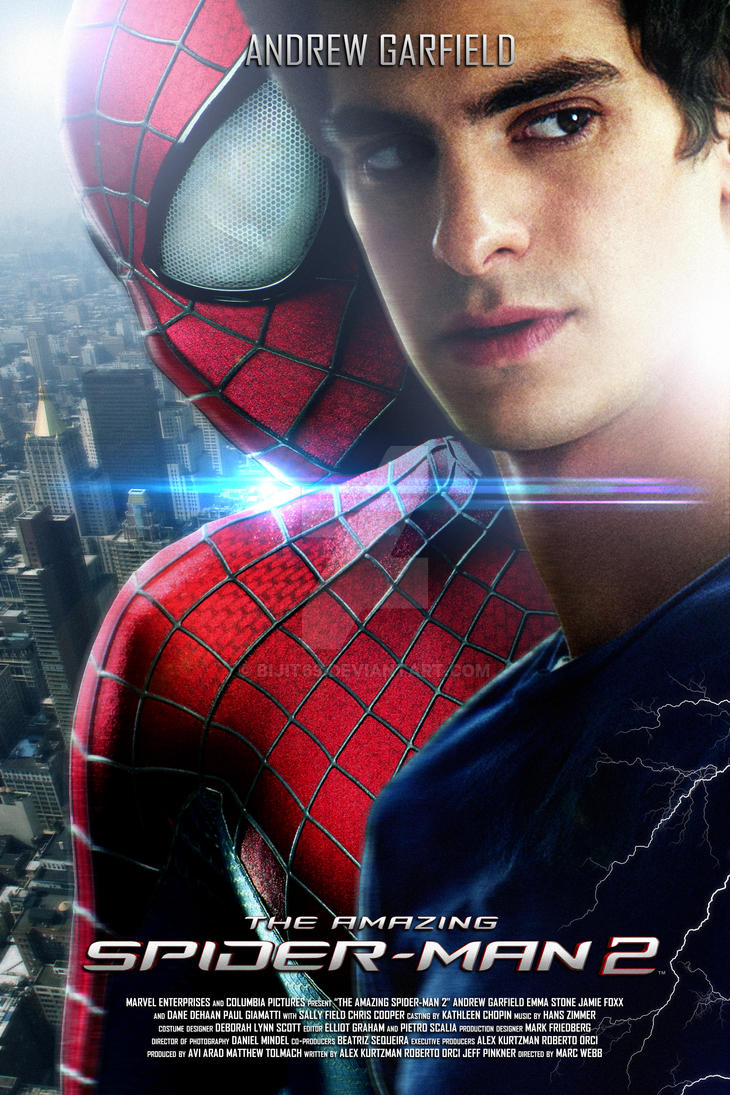 The Amazing Spider Man 2 By Bijit69