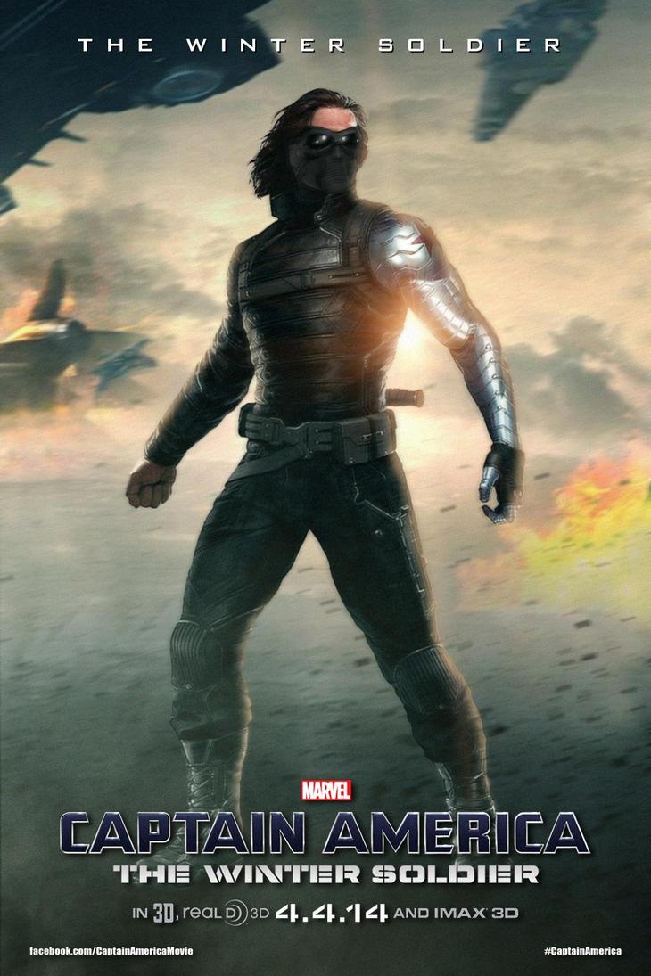 Winter soldier movie poster