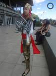 Lady Deathstrike and Wolverine