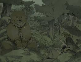 Conversation With a Bear by Seyorrol