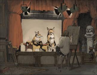 In The Studio by Seyorrol