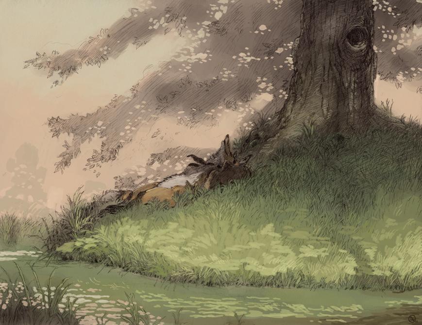 Shady Rest by Seyorrol