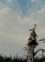 Watcher of the Woods by Seyorrol