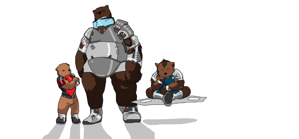 MS Painted: 10 PMB inspired Bears by HiddenSword