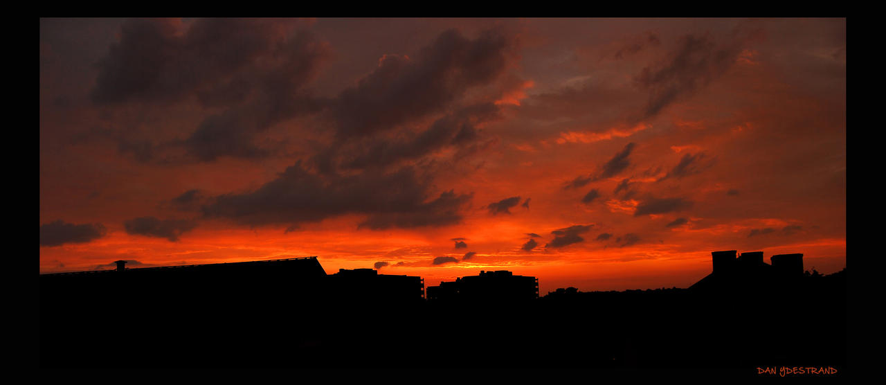 Ominous Sunset