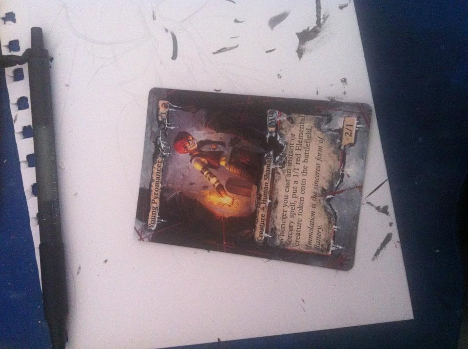 Young Pyromancer alter by  Young Pyromancer