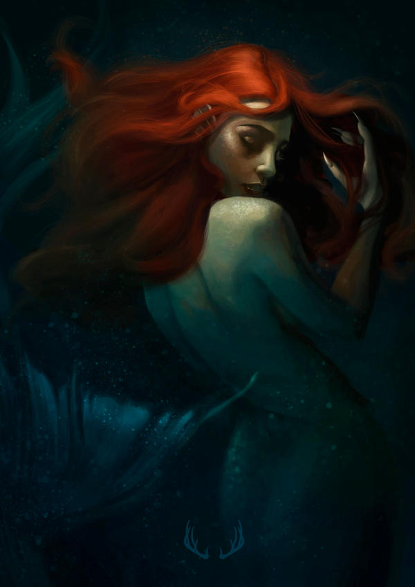 Mermaid by Marta-Deer