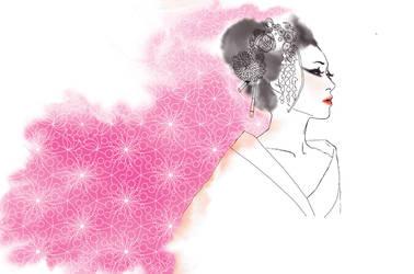 geisha by CalciNes