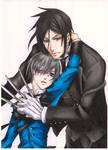 Ciel and Sebastian