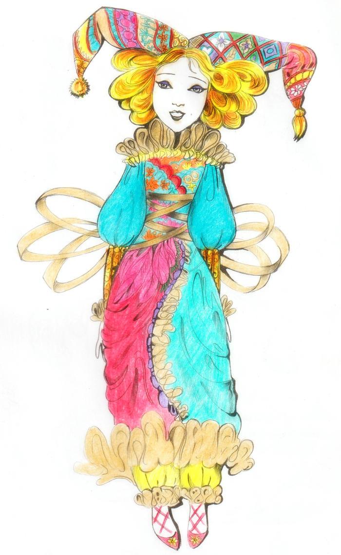 Clown ( Coloring Book #3 ) by epresvanilia