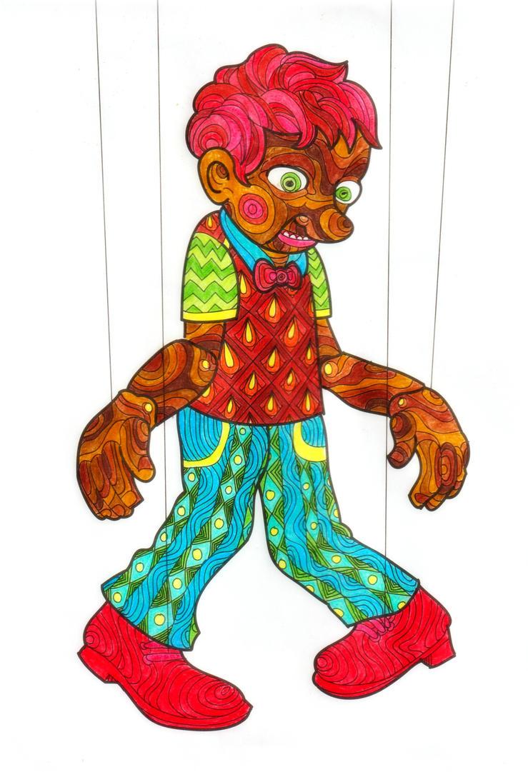 Pinocchio ( Coloring Book #4 ) by epresvanilia