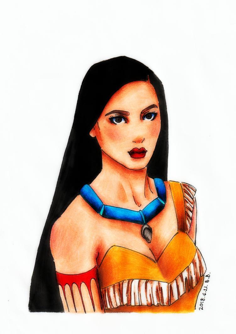 Pocahontas by epresvanilia