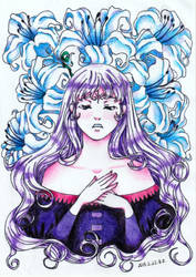 Lady Amalthea by epresvanilia