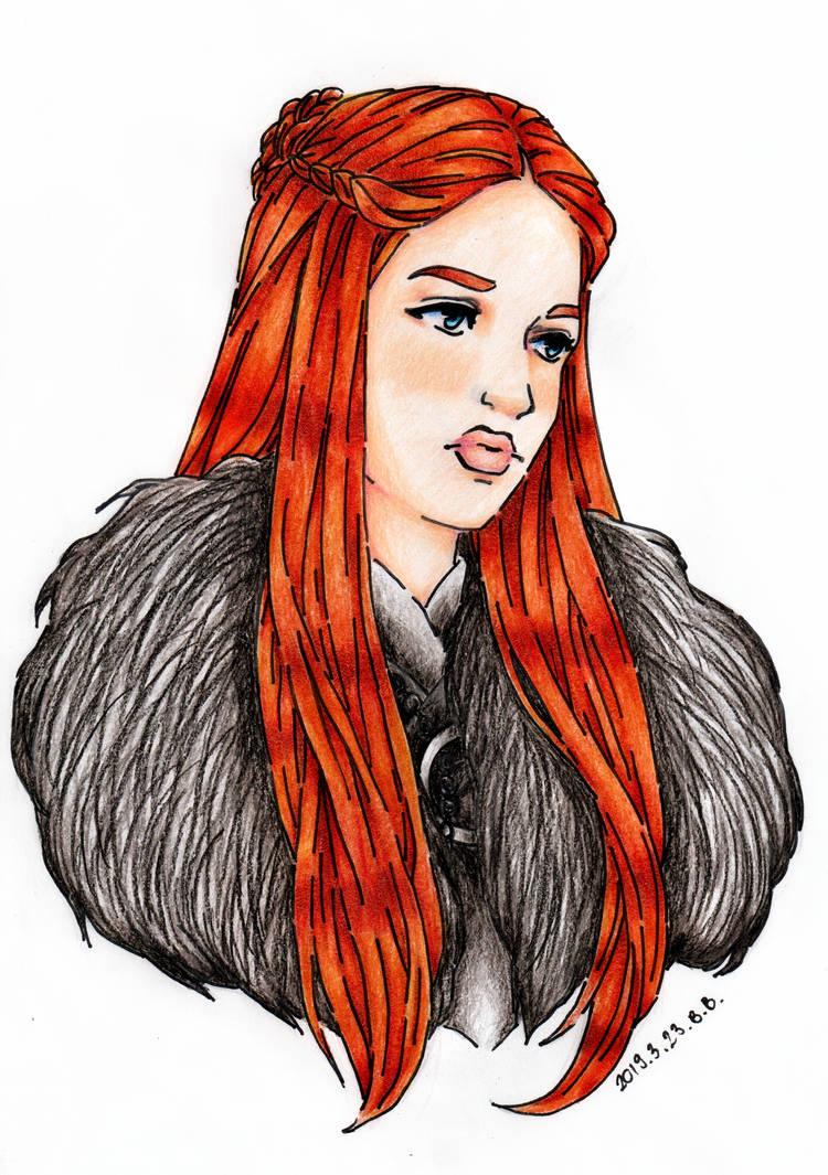 Sansa Stark by epresvanilia