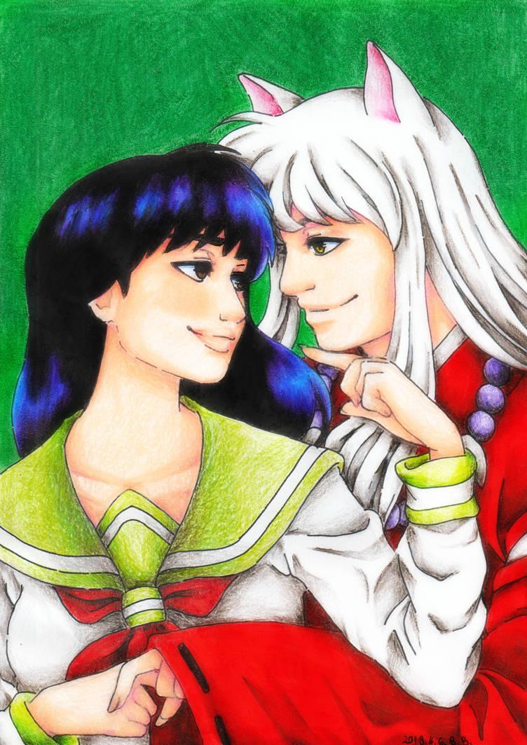 Kagome and Inuyasha by epresvanilia