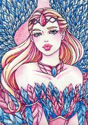 Barbie as Odette by epresvanilia