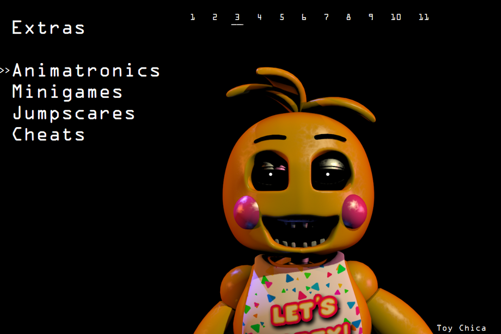 FNaF 2 Extras - Toy Chica by deeSix on DeviantArt