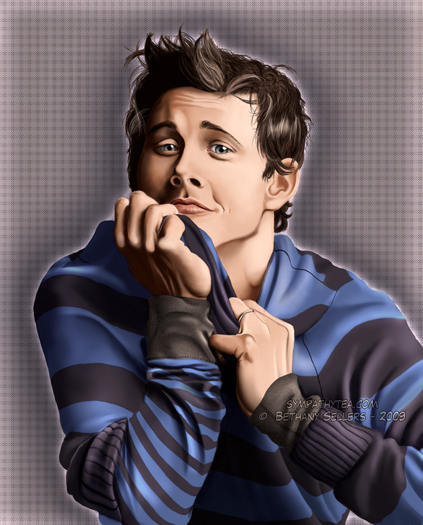 James Marsden portrait. by trojan-rabbit