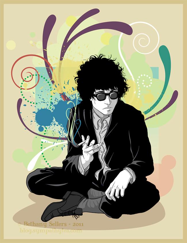 Bob Dylan by trojan-rabbit