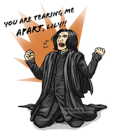 O hai, Snape. by trojan-rabbit