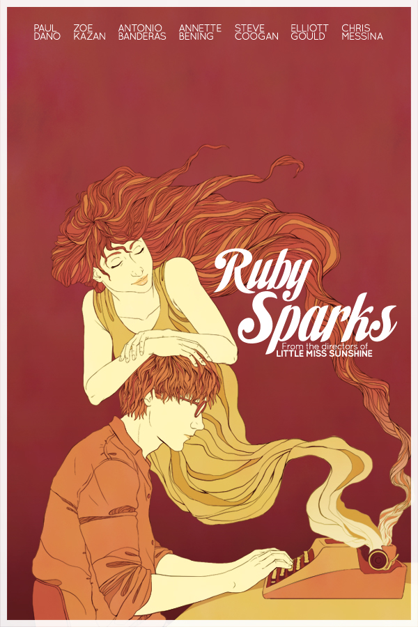 Ruby Sparks Poster by trojan-rabbit