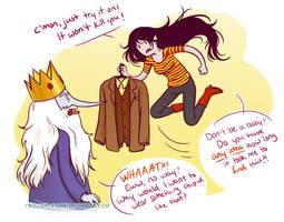 Ice King's Wardrobe by trojan-rabbit