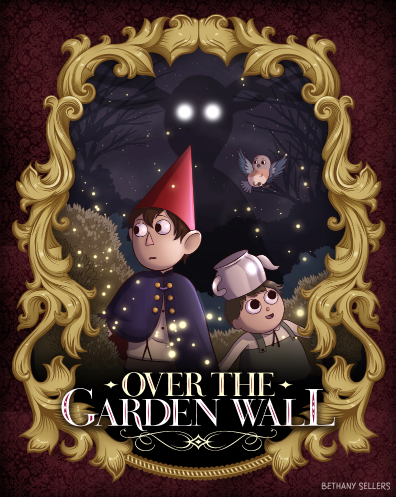 over the garden wall by trojan rabbit - Over The Garden Wall Poster