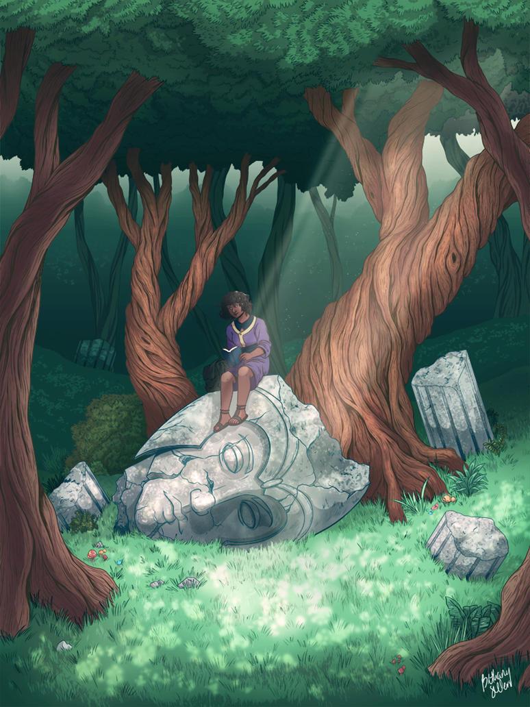 Ruins by trojan-rabbit