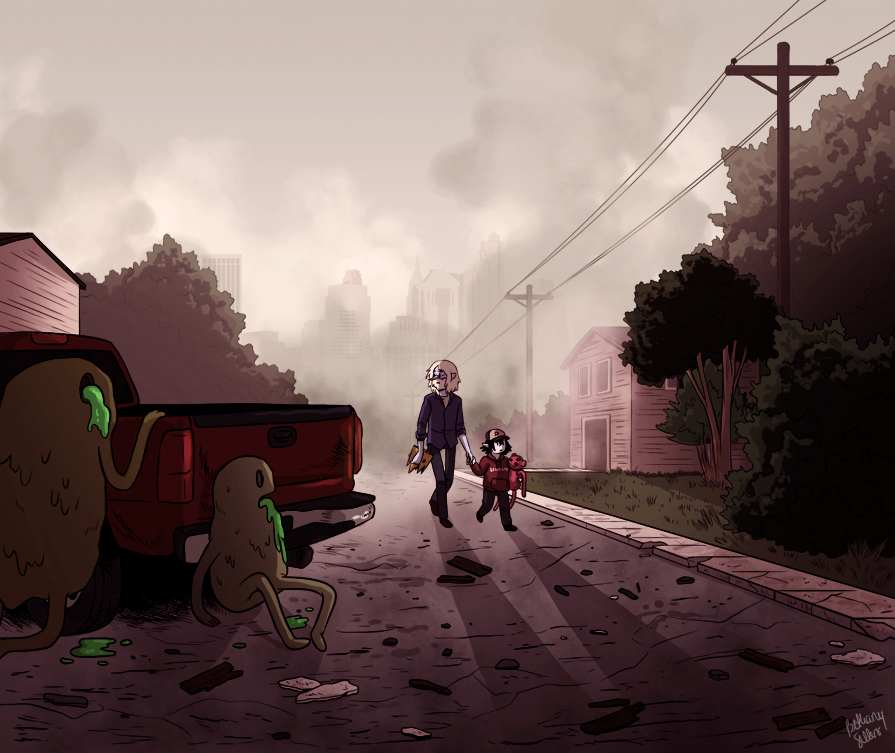 The Walking Goo by trojan-rabbit