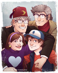 Pines Family by trojan-rabbit