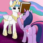 Trollestia vs Twilight Sparkle