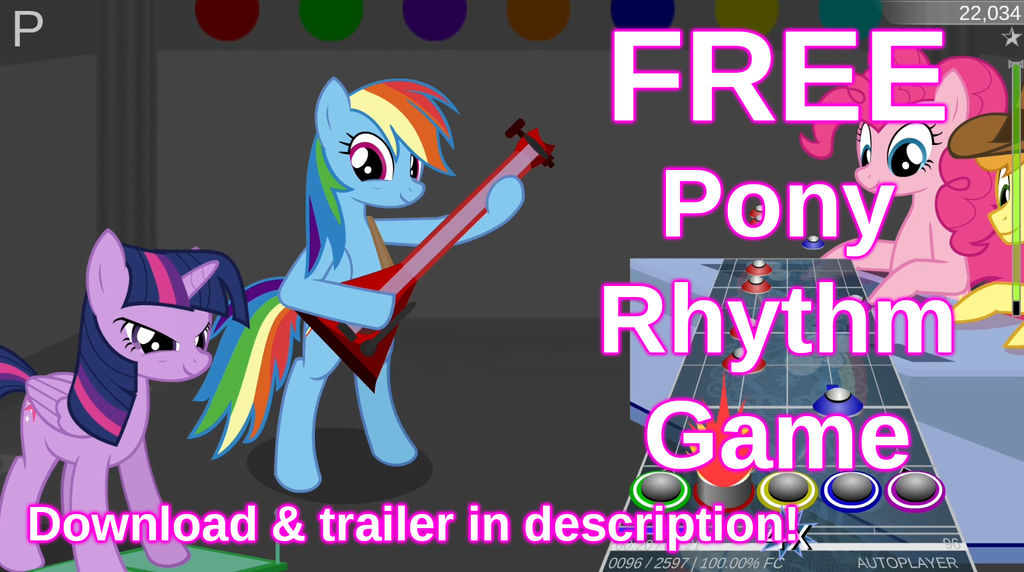 FREE Pony Rhythm Game released! by Setup1337