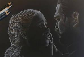 Daenerys Targaryen and Jon Snow - Last Goodbyes