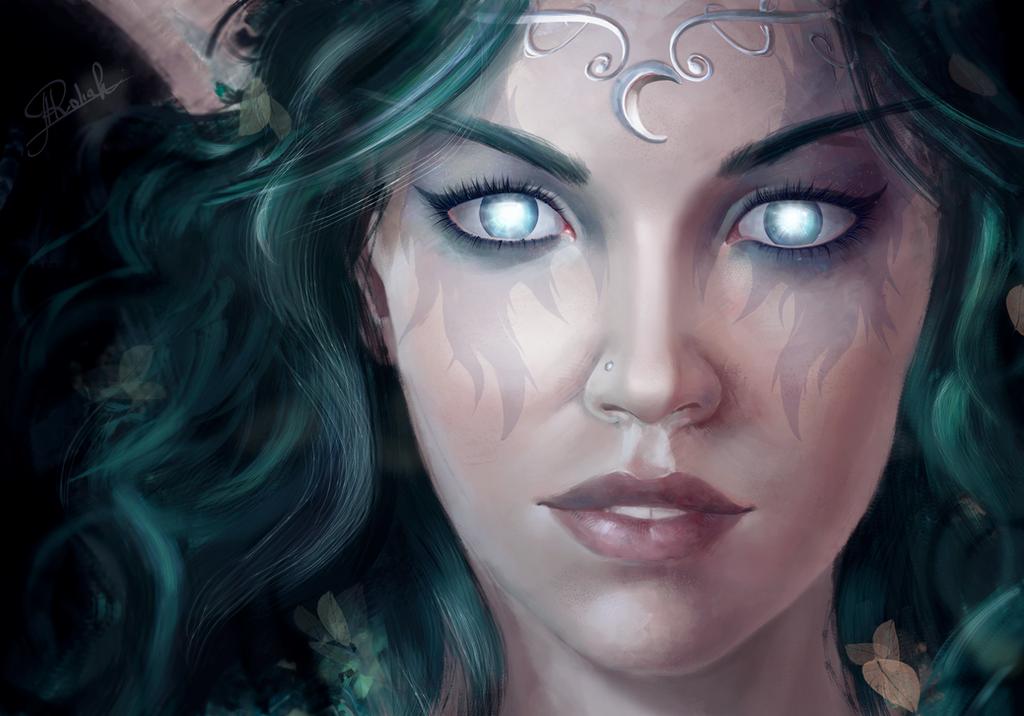 Tyrande Whisperwind by RoanNna on DeviantArt