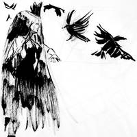 Day 10 Ravens' Witch by RoanNna